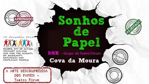 DRK petição sonhos de papel, GTO LX